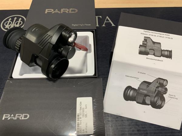 Digitales Nachtsichtgerät PARD NV007A Linse: 16mm inkl. 42 mm Adapter